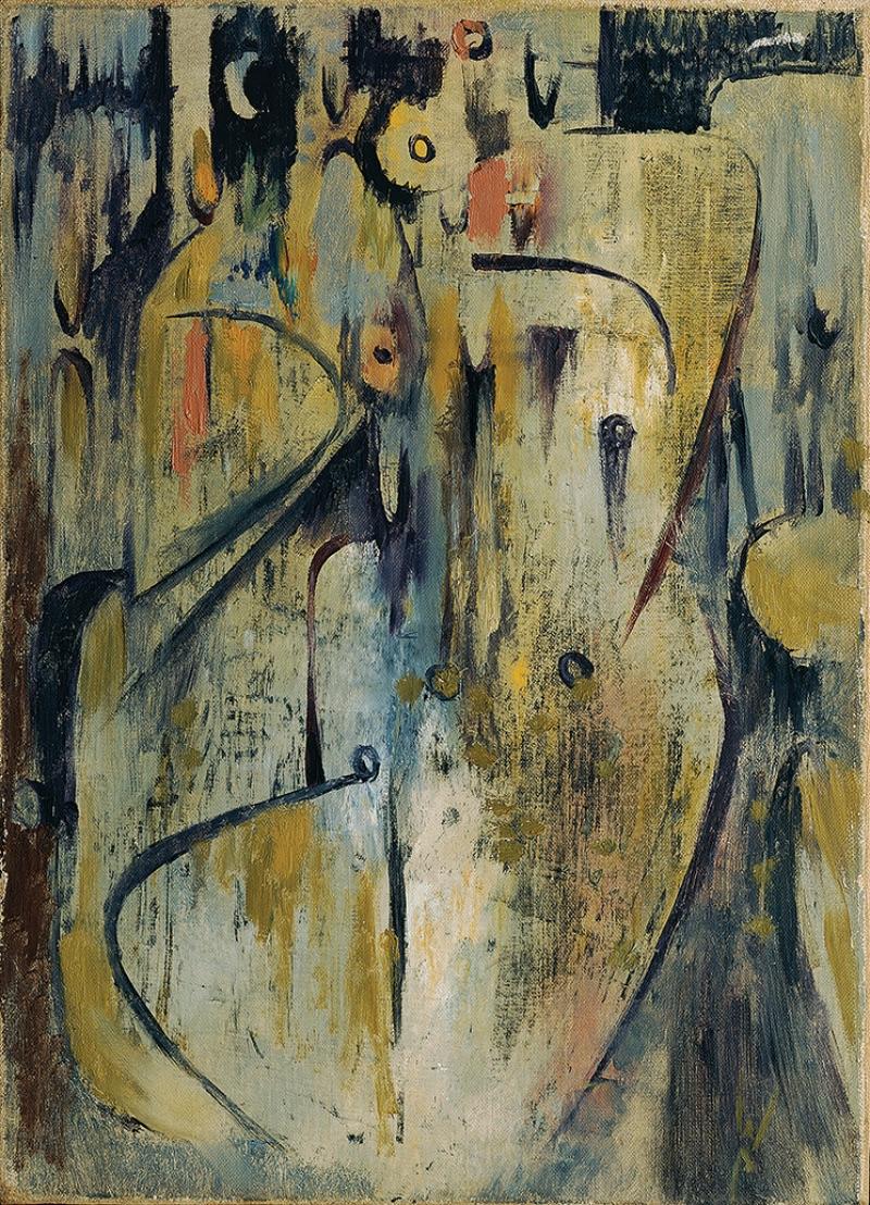 Wolfgang Paalen, El Velorio, 1946