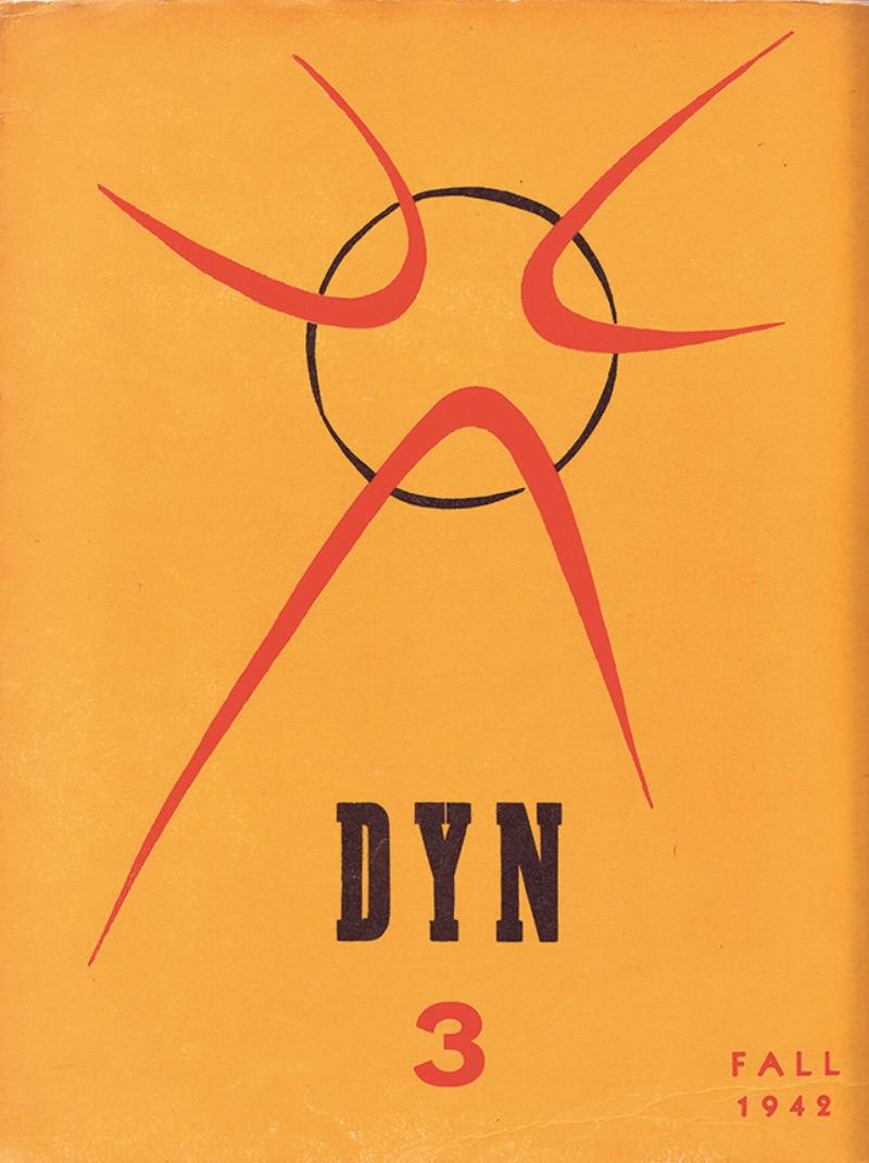Wolfgang Paalen, Cover of DYN magazine, No. 3, Fall 1942