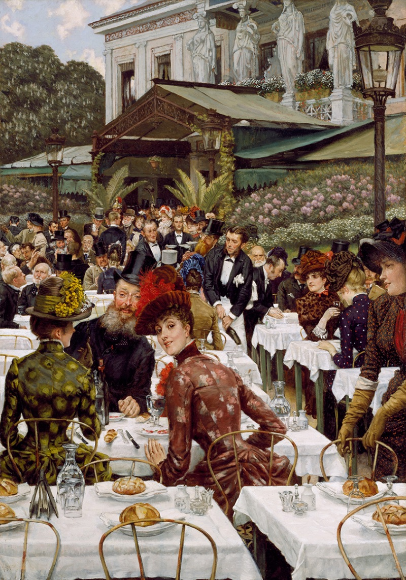 James Tissot, La Femme à Paris: The Artists' Wives, 1885