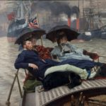 James Tissot, On the Thames, ca.1876