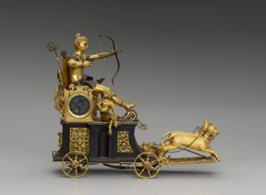 Automaton clock in the form of Diana on her chariot, circa 1610