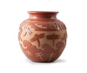 Autumn Borts-Medlock (Santa Clara), Dragonfly Pot, n.d.