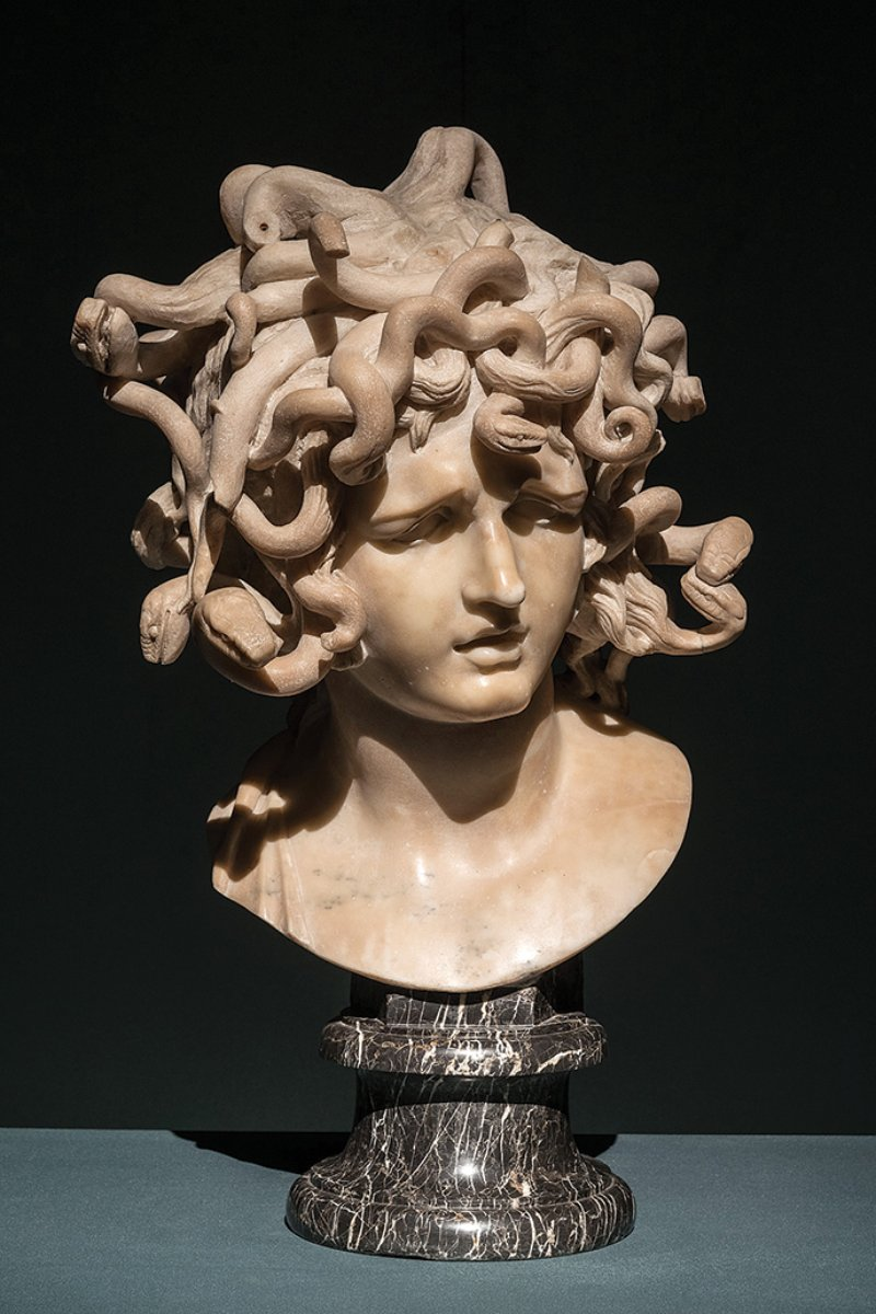 Bernini, Medusa, 1638-40