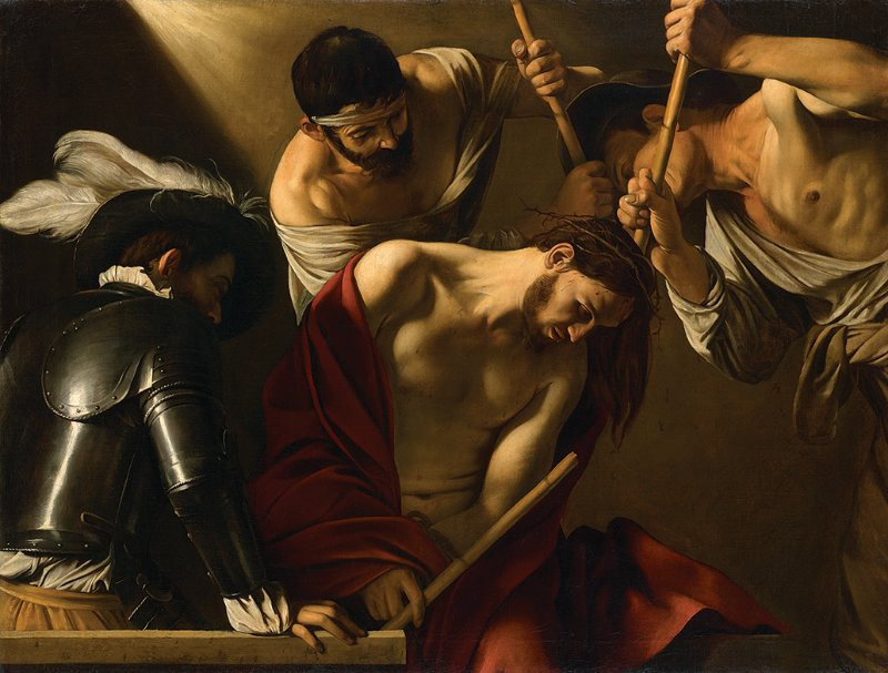 Caravaggio, The Crowning with Thorns, c. 1603