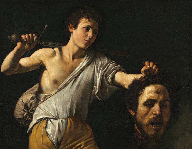 Michelangelo Merisi da Caravaggio, David with the Head of Goliath, c. 1600/1601