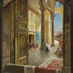 Carl Wuttke, The Great Umayyad Mosque, Damascus, 1913