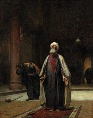 Frederick Arthur Bridgman, The Prayer, 1877