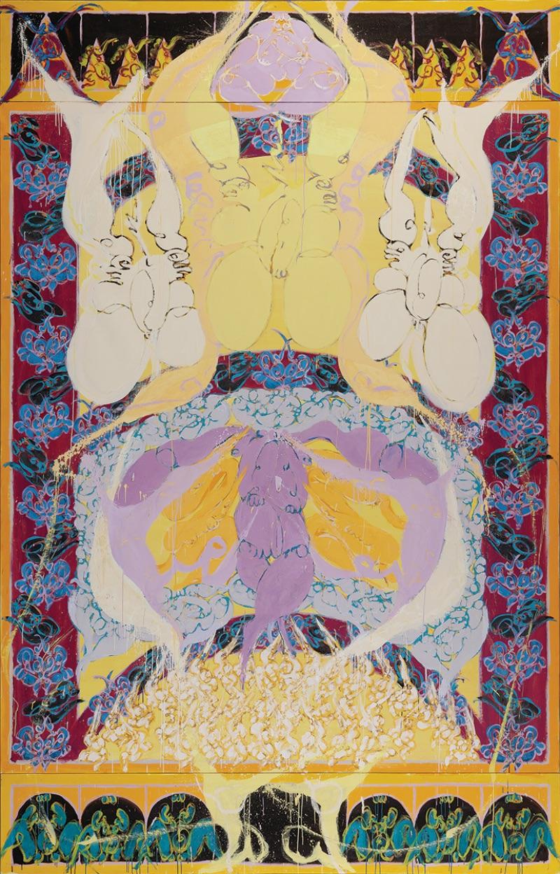 Norman Bluhm, Ode to Apollo, 1997