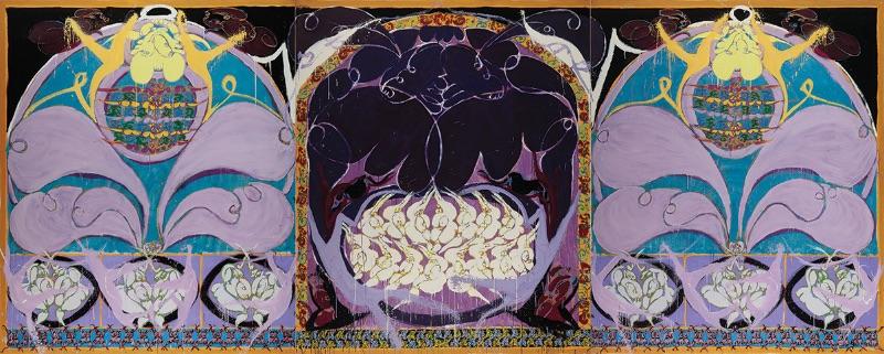 Norman Bluhm, Persephone, 1995