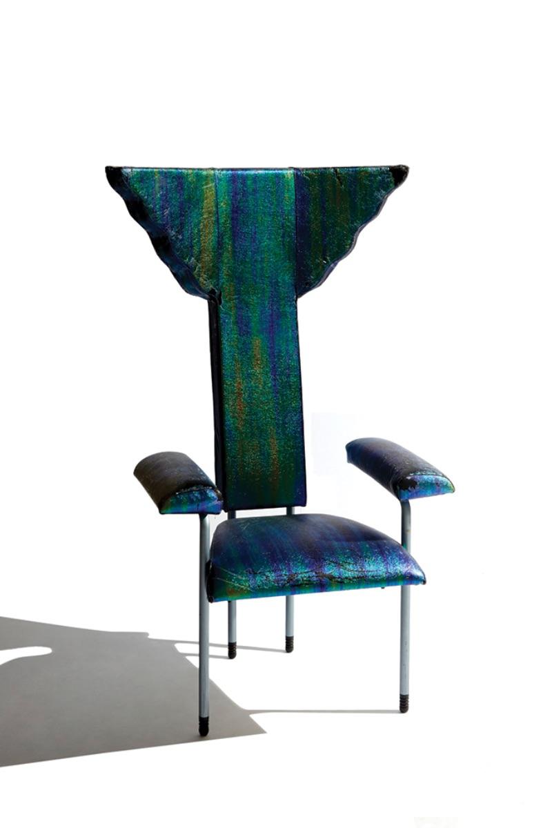 "Ugo La Pietra, ""Poltroncina"" Chair, 1982"