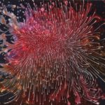 Barbara Takenaga, Red June, 2014