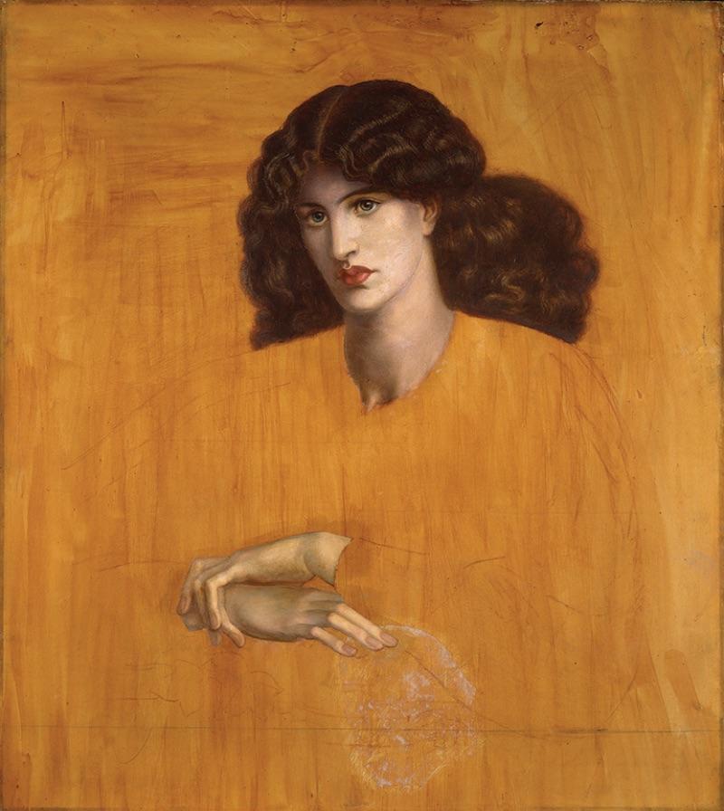 Dante Gabriel Rossetti, La Donna della Finestra, 1881