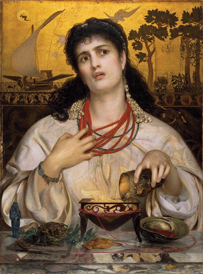 Frederick Sandys, Medea, 1866–68
