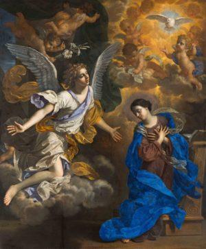 Benedetto Gennari, The Annunciation, 1686.
