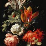 Simon Verelst, A Vase of Flowers, 1669.