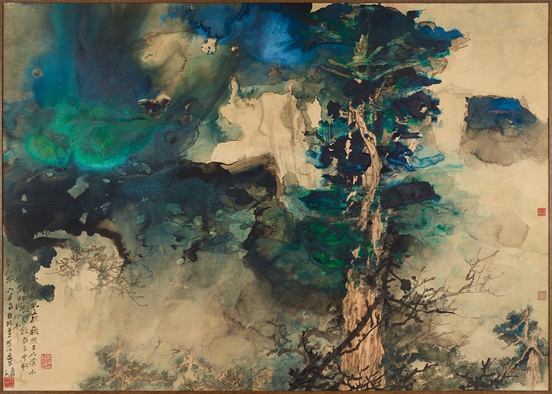 Chang Dai-chien, Divine Redwood Trees (Shenmu) in Taiwan, 1970