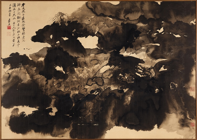 Chang Dai-chien, Mountains in Summer Clouds, 1970