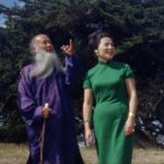Chang Dai-chien and his wife, Hsu Wen-po, in Carmel, Calif., August 1967