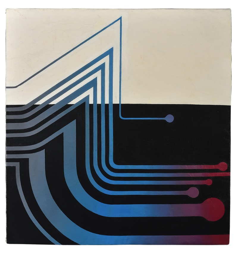 Franz Jozef Ponstingl, Untitled, 1970