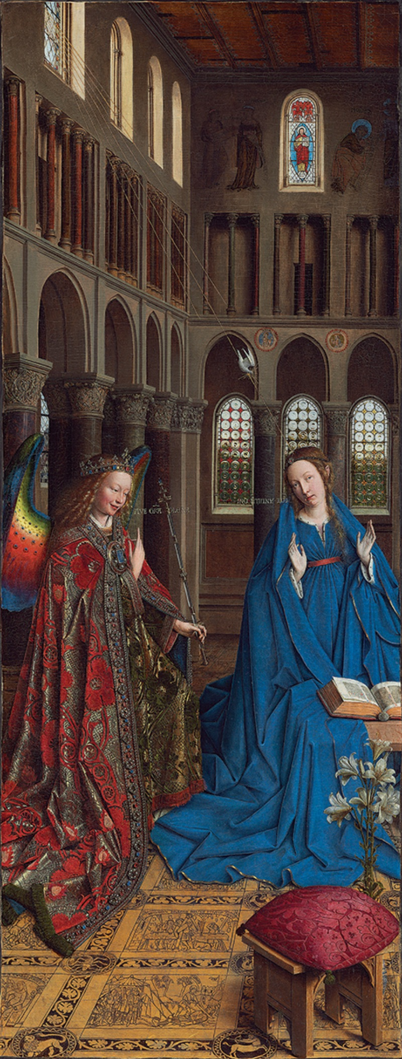 Jan van Eyck, The Annunciation, circa 1434–36
