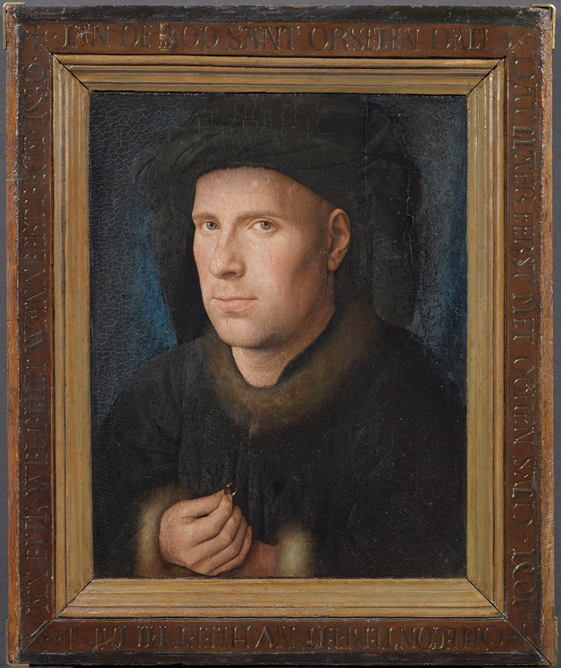 Jan van Eyck, Portrait of Jan de Leeuw, 1436
