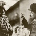 Granville Redmond and Charlie Chaplin, ca. 1918
