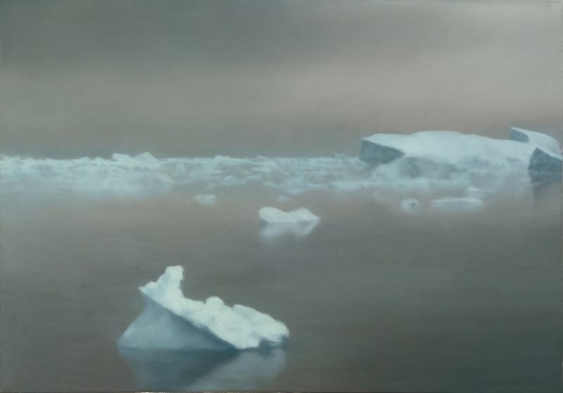 Gerhard Richter, Ice, 1981