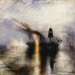J.M.W. Turner, Peace—Burial at Sea, exhibited 1842