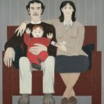 Will Barnet, New England Family, 1984