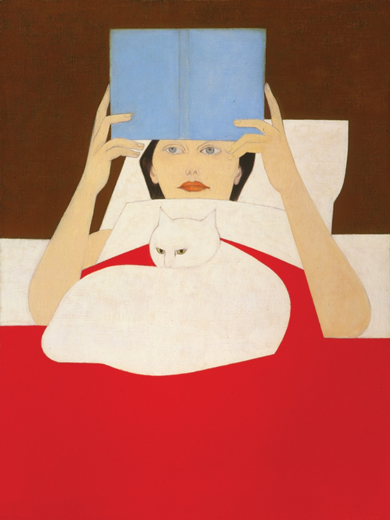 Will Barnet, Woman Reading, 1965