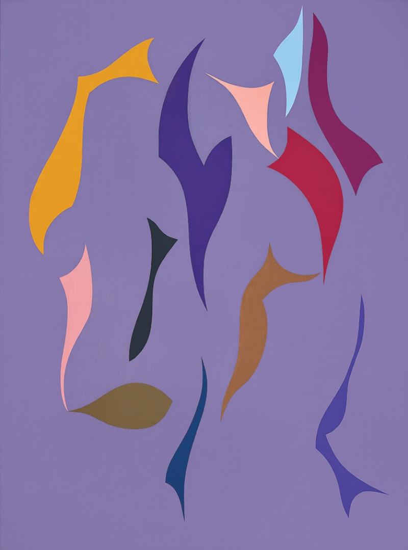 Karl Benjamin, #1, 1992