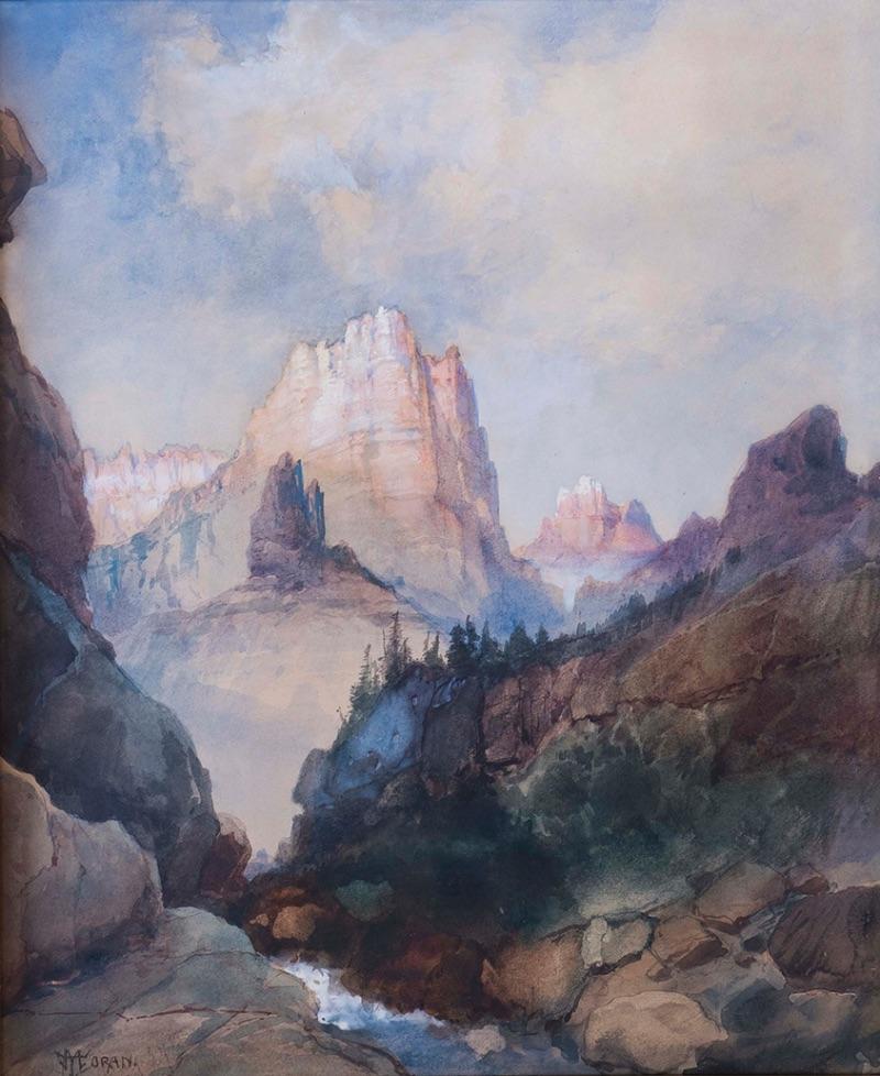 Thomas Moran, Green River Valley, Wyoming