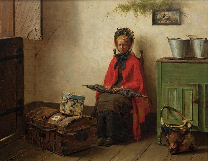 Gilbert Gaul, Waiting, 1876