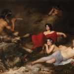 Andrea Groll, Pan and the Dryads, 1898