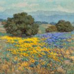 Granville Redmond, California Poppies and Lupine